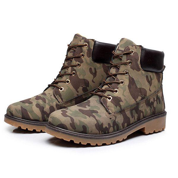 Men boots fashion Winter ankle snow shoes 2016