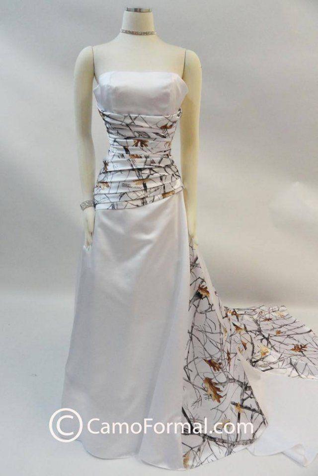 White camo wedding dress                                                                                                                                                                                 More