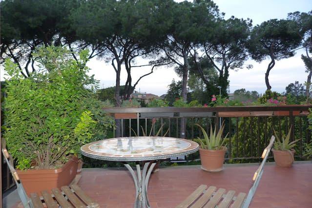 Villa con giardino Appia Antica - Roma