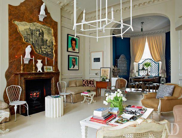 Квартира в Лондоне, декоратор Ники Хэслем