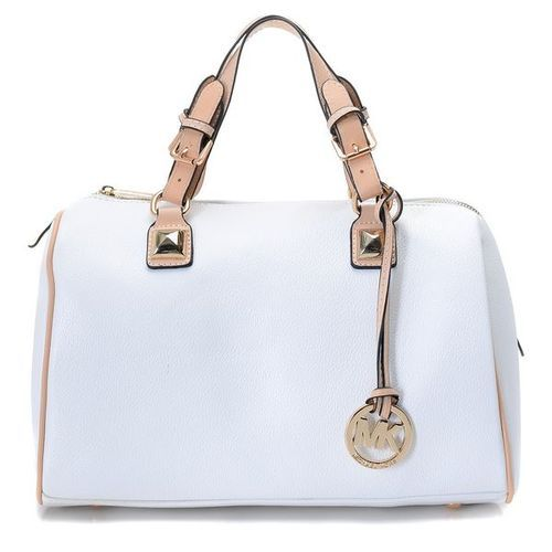 Kors Michael Kors Grayson Medium Leather Satchel Dove White : Michael Kors  Outlet,Cheap Michael Kors Handbags, Welcome to Michael Kors Outlet