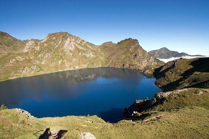 Lac Bleu dans les Hautes-Pyrénées