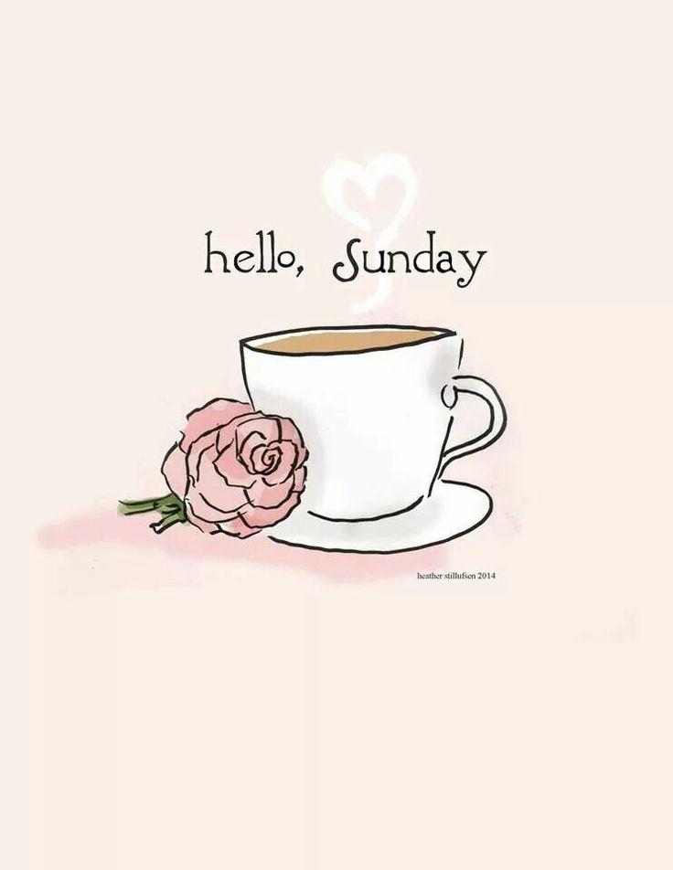 Hello,  Sunday