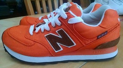 a5c664512c48 NEW BALANCE Sneakers ML574BPC BACKPACK RETRO ORANGE BROWN SIZE 7 ...