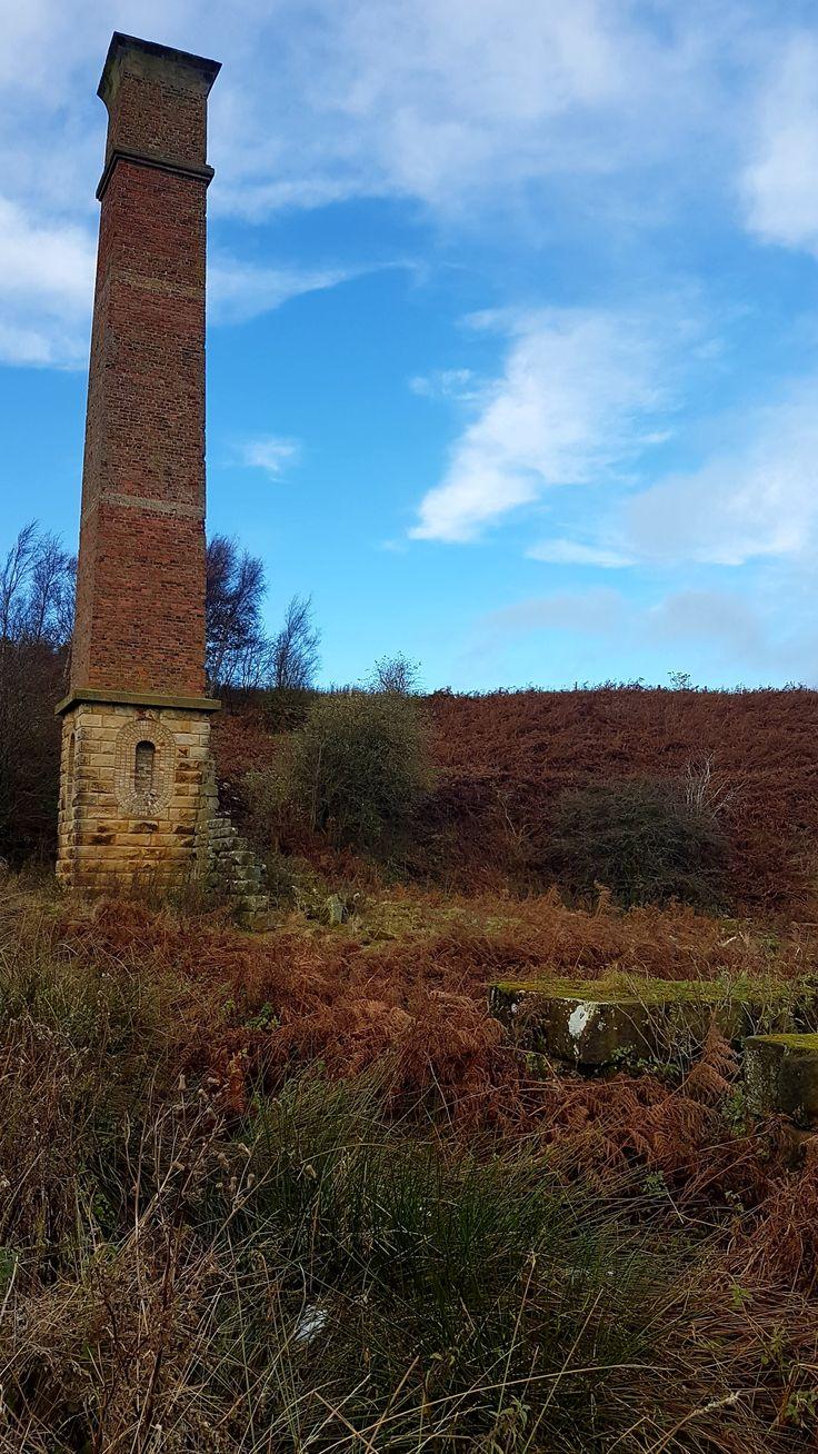 Warren Moor Mine late Autumn