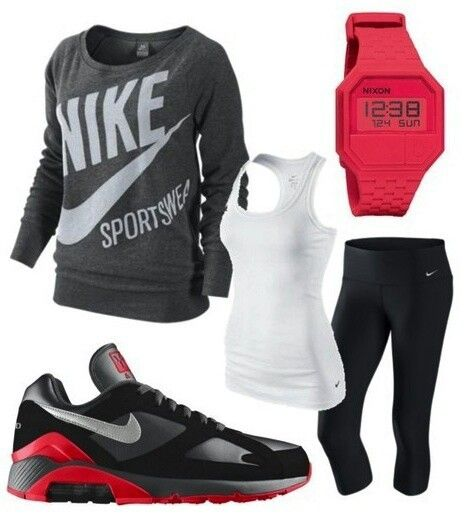 Nice workout outfit for cooler climates