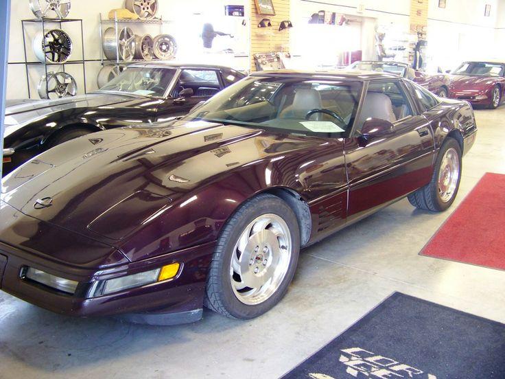 1994 Black Rose Metallic Corvette 1,267 units Corvette