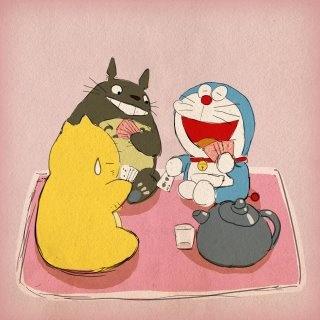 Doraemon & Totoro