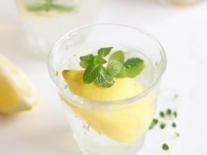 DETOX WATER - citron, gingembre et herbes fraîches