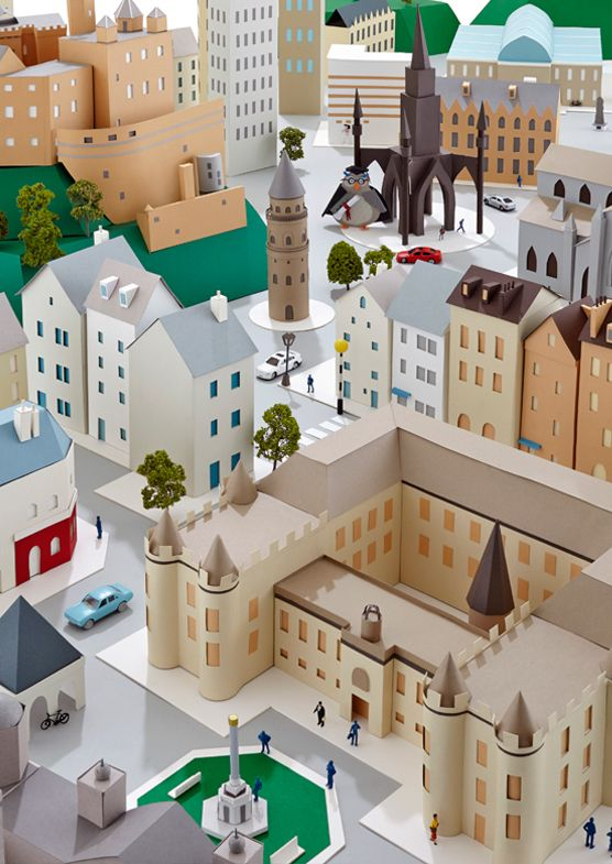 https://www.behance.net/gallery/18845803/Paper-Cities