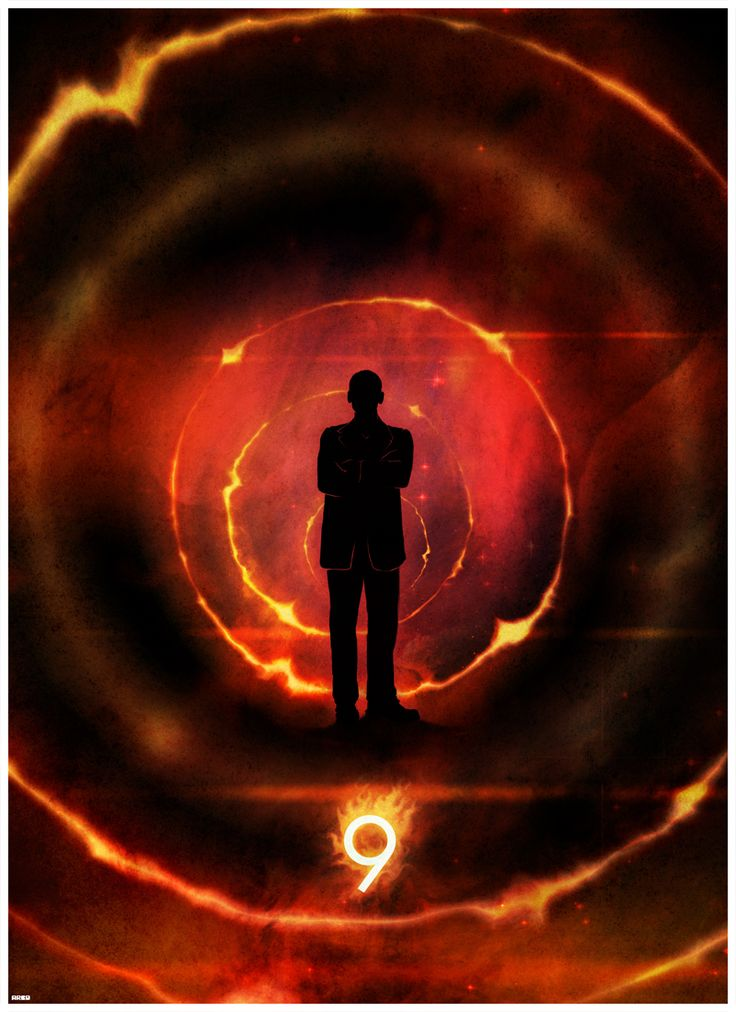 12 incredible Doctor Who posters - the 9th Doctor