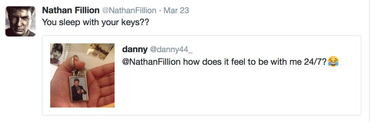 Nathan fillion funny twitter post (Castle)