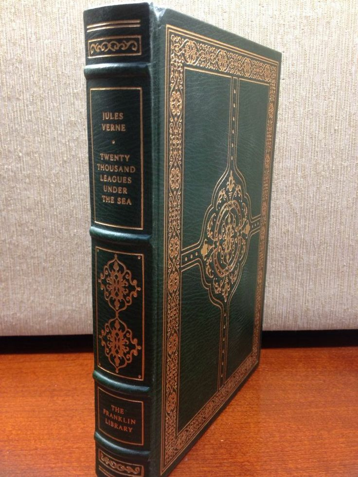 Twenty Thousand Leagues Under the Sea Jules Verne Franklin Library Full Leather