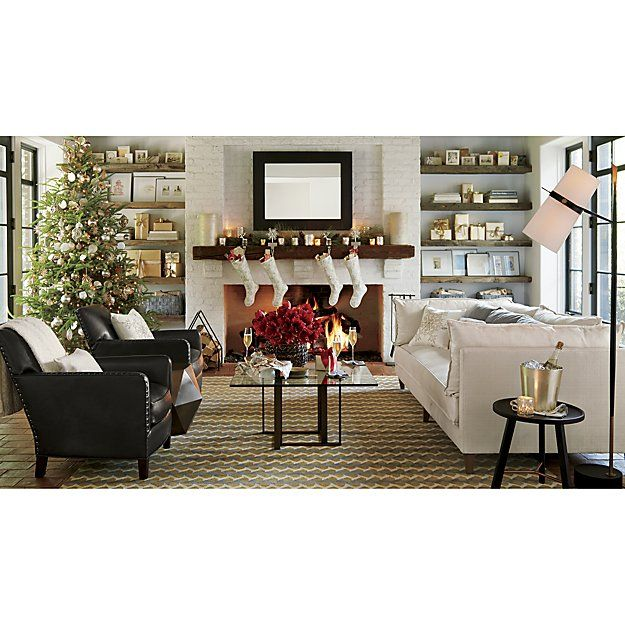 Riston Floor Lamp   Crate and Barrel   Coffee table crate ... on Riston Floor Lamp  id=92613