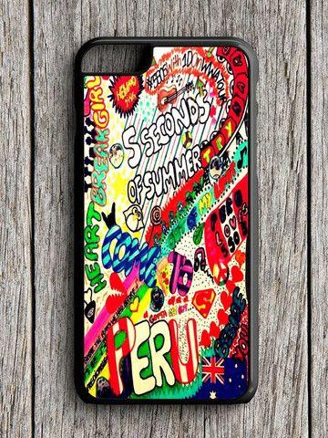 5 Sos Art Color iPhone 6 Case