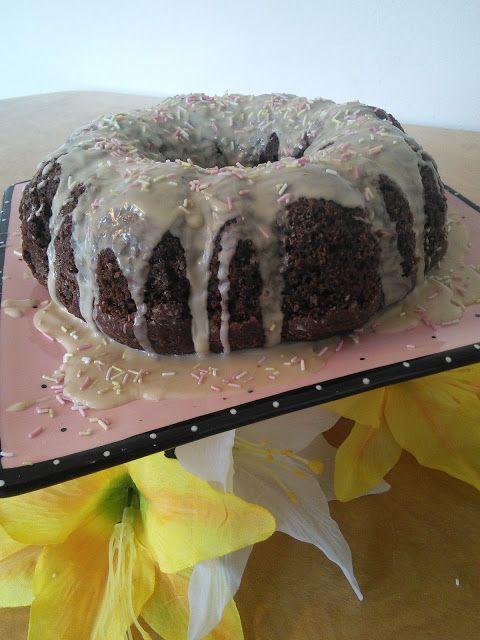 Chocolate Mocha Cake Made With Community Coffee