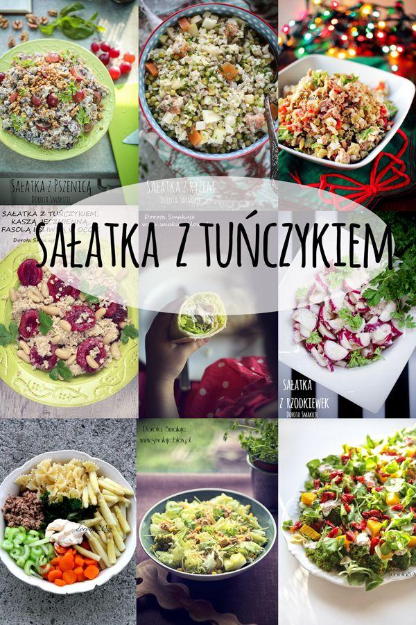 12 pomysłów na sałatkę z tuńczykiem