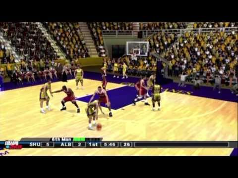 College Hoops 2K8 Playstation 2 Gameplay (2K Sports 2007) (HD) - YouTube