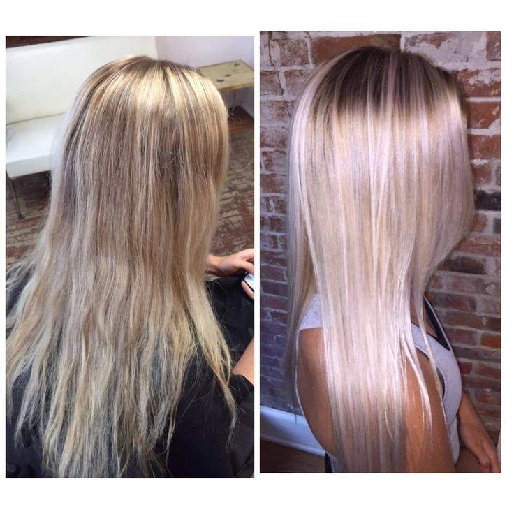 color spot hair design