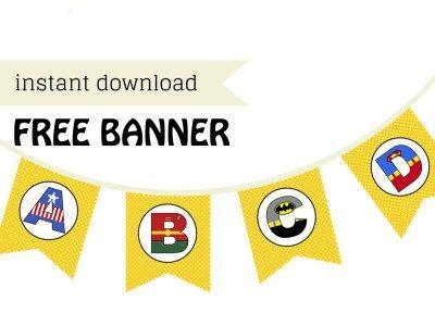 free-superhero-banner-superhero-party-baby-shower-banners