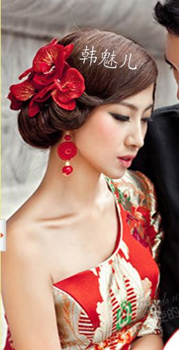 traditional chinese wedding hair ornaments - Google Search