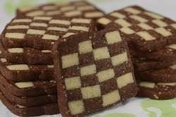 Try these beautiful Checkerboard Cookies that give you a chocolate and vanilla cookie in one. From Joyofbaking.com With Demo Video