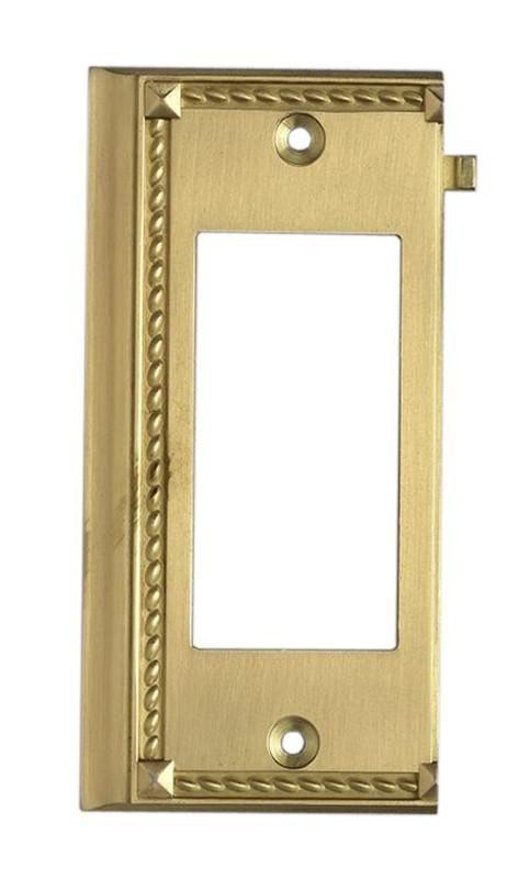 ELK Lighting Clickplates Brass End Switch Plate - 2508BR