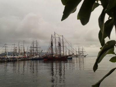 tall ships in porto alla Spezia