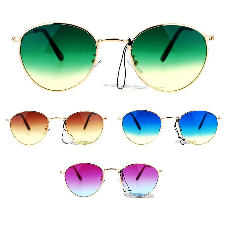 9.95$  Buy now - http://vigdv.justgood.pw/vig/item.php?t=kts8cio55270 - Womens 90s Gradient Oceanic Lens Boyfriend Style Celebrity Sunglasses 9.95$