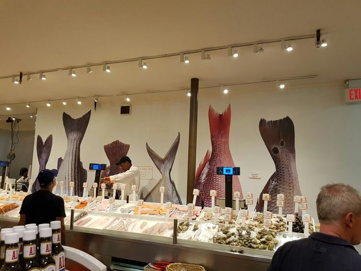 Best 25 supermarket design ideas that you will like on for Fish market design ideas