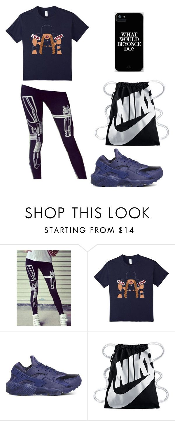 """What would Beyonce do?"" by ashes611 ❤ liked on Polyvore featuring NIKE"