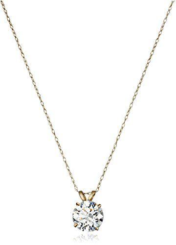 10k White Gold Blue Sapphire Gemstone Birthstone Solitaire