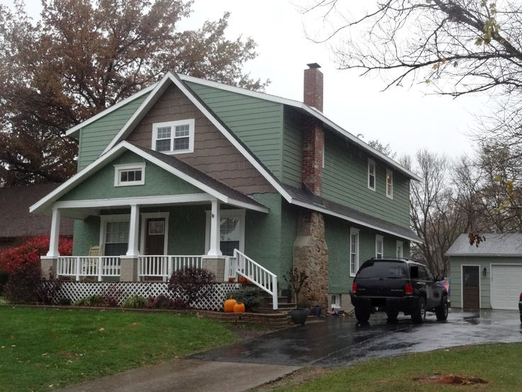 Full Length Shed Dormer Style Home Addition On A Craftsman