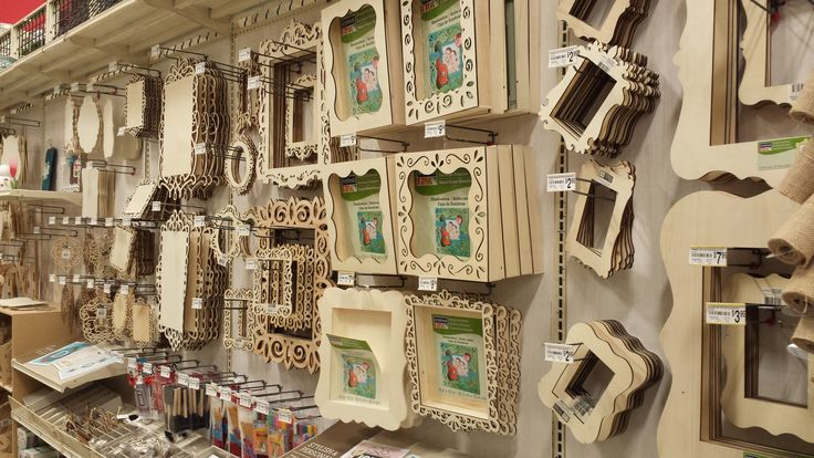 laser cut wood plaque -Available at Michaels