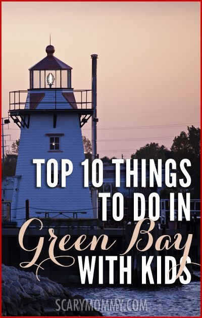 Looking for things to do in Green Bay, Wisconsin with kids? The Scary Mommy Travel Guide was created because there is nobody better to help you survive traveling to an unfamiliar destination than a mom who lives there.  summer | spring break | family vacation | parenting advice