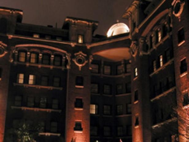 Spend a night in one of these haunted hotels, which are known for being occupied by a few famous ghosts.