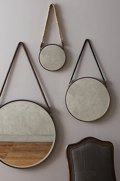 Anthropologie Sailor's Mirror #anthrofav #greigedesign