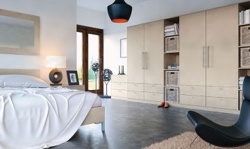Metallic Zurfiz Bedroom Doors - By BA Components