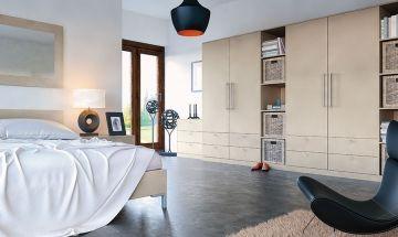 Metallic Zurfiz Bedroom Doors - By BA Components