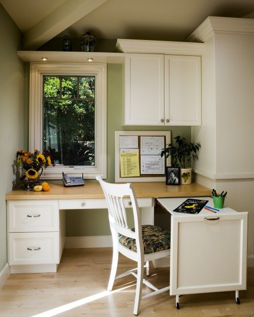 17 Best Ideas About Kitchen Office Spaces On Pinterest