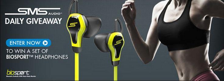 Win a Set of Biosport Headphones. Daily Winner!!!