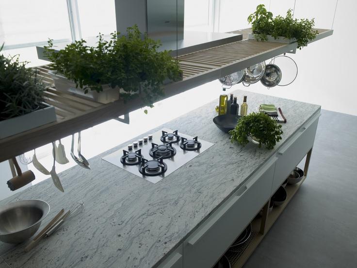 Encimera de granito River White // River White granite countertop