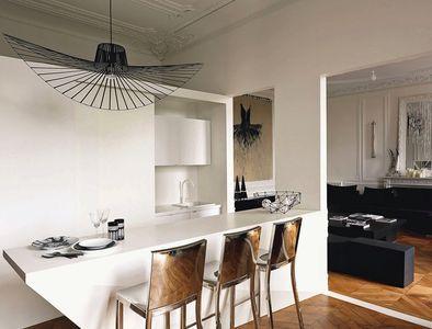 R novation appartement haussmannien avec vue sur le jardin des tuileries ph - Agencement petit appartement ...