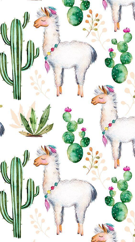 For the Love of Llamas! 10 Cutesy Llama iPhone Wallpapers