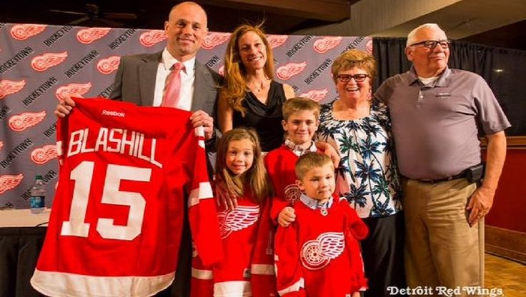 Jeff Blashill is the new head coach of the Detroit Red Wings:  http://sidelinebuzz.com/detroit-red-wings-hire-jeff-blashill-as-new-head-coach/