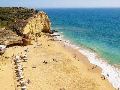 #Beach Praia dos Caneiros, Algarve, Portugal | via http://blog.turismodoalgarve.pt