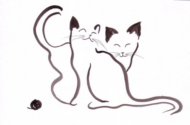 Chats stylisés