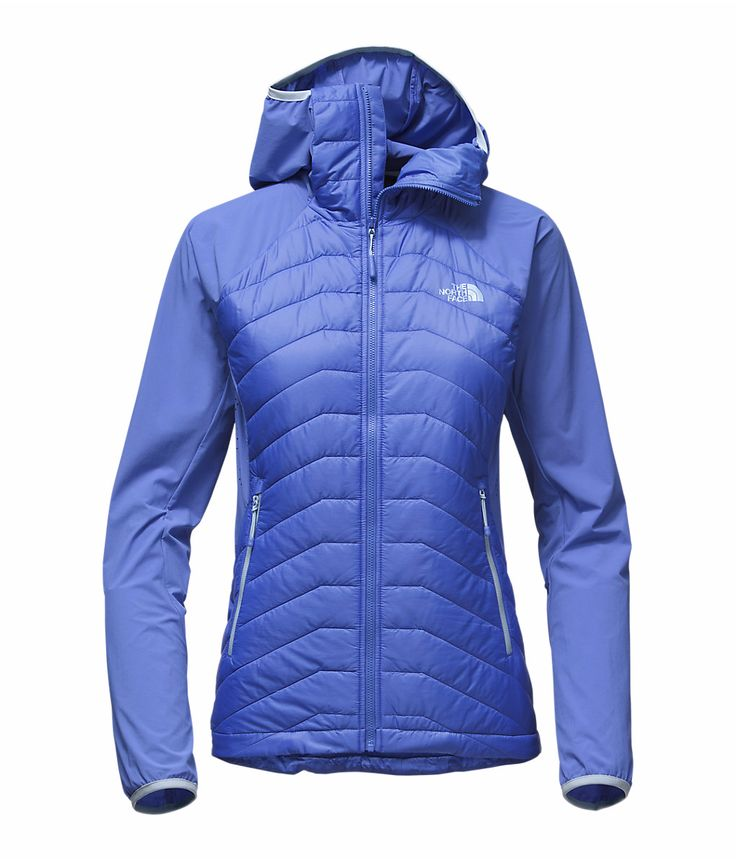 The North Face Women's Progressor Insulated Hybrid Jacket Amparo Blue XS