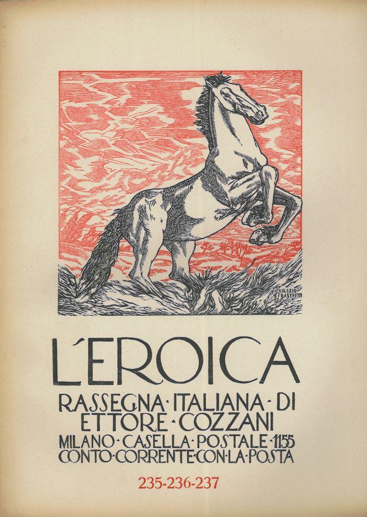 L'Eroica, quaderno numero 235-236-237 - #scripomarket #scripofilia #scripophily #finanza #finance #collezionismo #collectibles #arte #art #scripoart #scripoarte #borsa #stock #azioni #bonds #obbligazioni