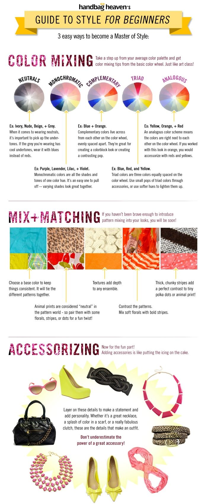 How to Wear Color! Your simple go-to guide for wearing color. #fashion #color #style #ootd